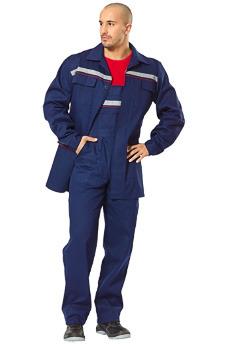 Саржевый костюм с полукомбинезоном. Магазин рабочей спецодежды.