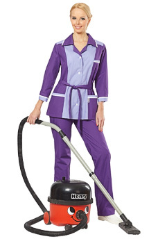 Сиреневый костюм Лаванда для клининговых компаний