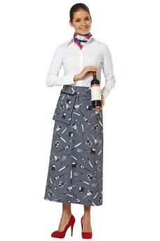 Фартук официанта Этикет с навесным карманом