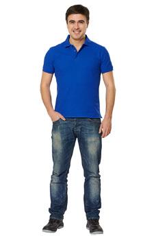 Рубашка-поло с манжетами. Цвета в ассортименте.