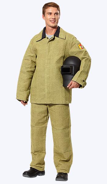 Купить в Самаре костюм сварщика брезентовый - магазин спецодежды.