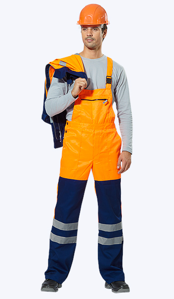Купить по ценам производителя костюм дорожника сигнальный. Спецодежда Самара.