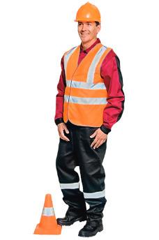 Цены в Самаре на оранжевые жилеты дорожников. Рабочая одежда в Самаре.