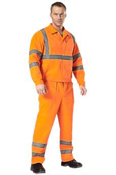 Сигнальные костюмы дорожных служб. Спецодежда в Самаре.