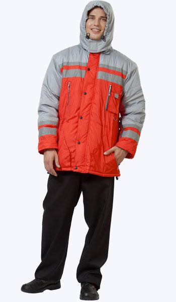 """Куртка """"Байкал"""" с утепленным капюшоном."""