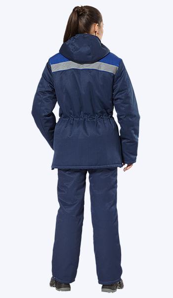 """Куртка """"Бригадир"""" для работы зимой женщинам."""