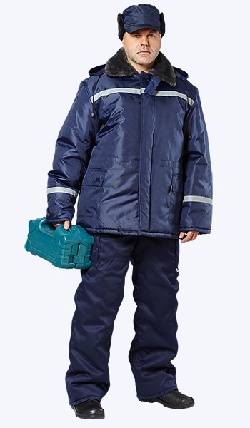 Купить в розницу зимнюю куртку по оптовой цене. Спецодежда Самара.