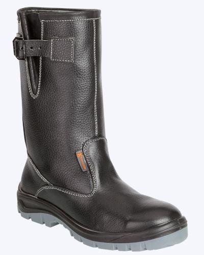 В магазине защитной обуви купить зимние сапоги с подошвой ПУ/ТПУ.