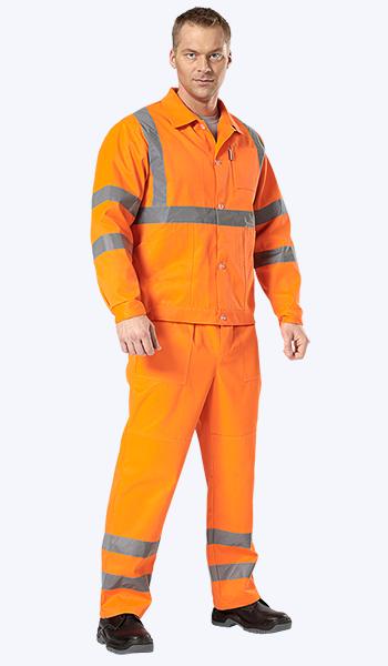 Купить в магазине спецодежды костюм дорожника. Рабочая одежда в Самаре.