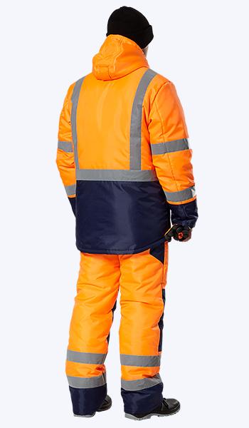 Спецодежда Самара. Костюмы дорожных служб для зимней работы.