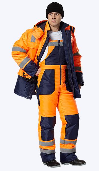 Где купить утепленные костюмы для дорожников. Спецодежда в Самаре.