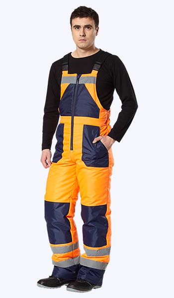 Магазин спецодежды. Купить в Самаре зимнюю сигнальную одежду для дорожных служб.