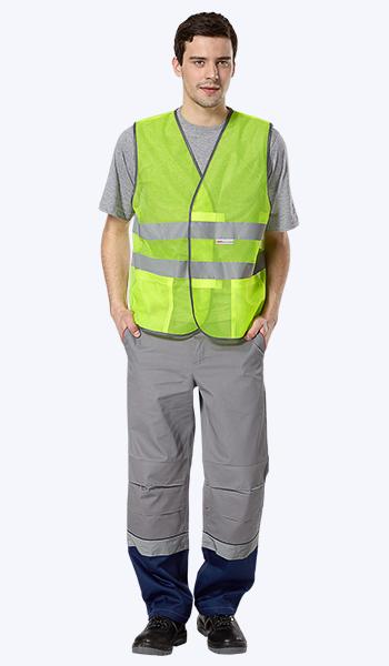 Купить в Самаре зеленые сигнальные жилеты. Спецодежда недорого.