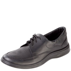 Туфли мужские, шнурки, ПУ