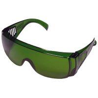 Очки защитные открытые тип Люцерна зеленые